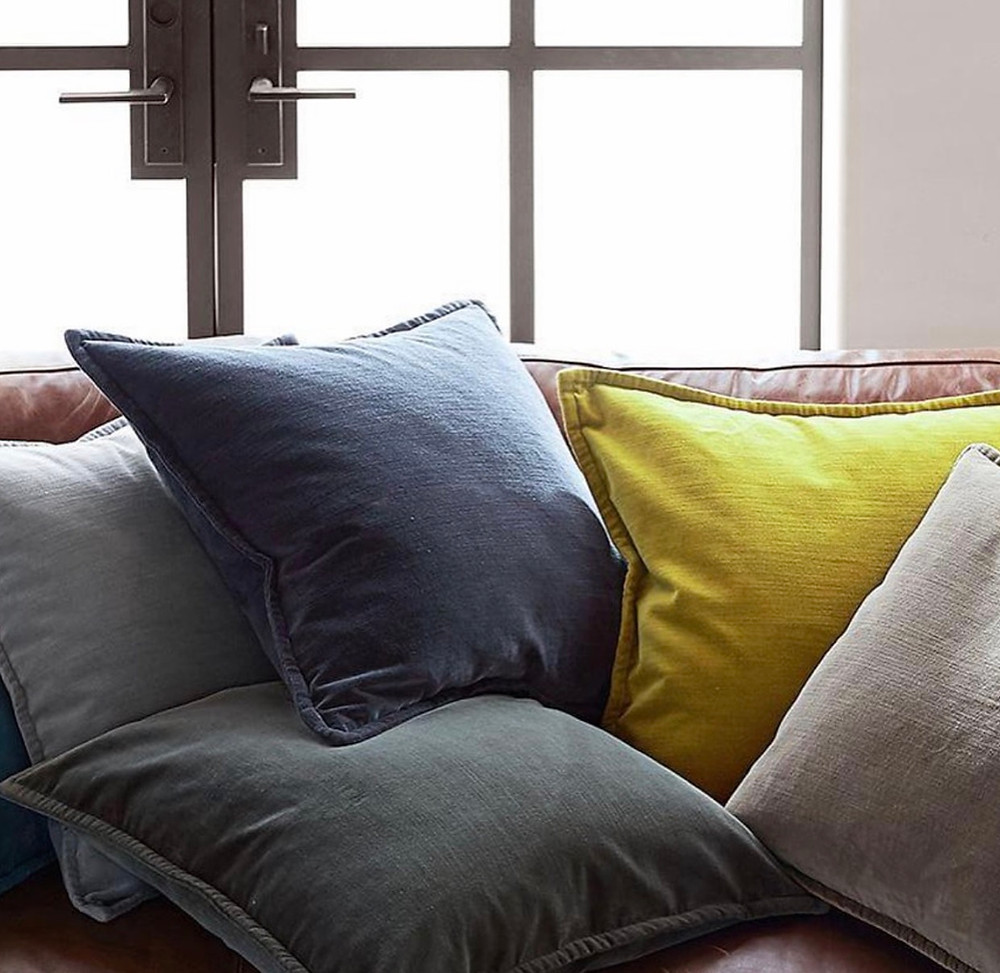 jewel tone cushions