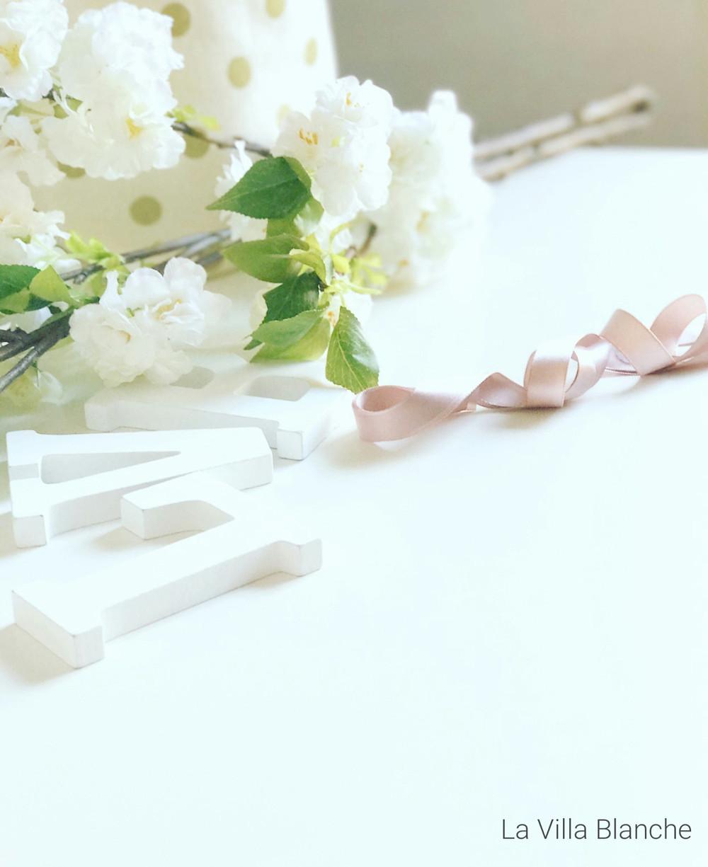 white flowers & LVB