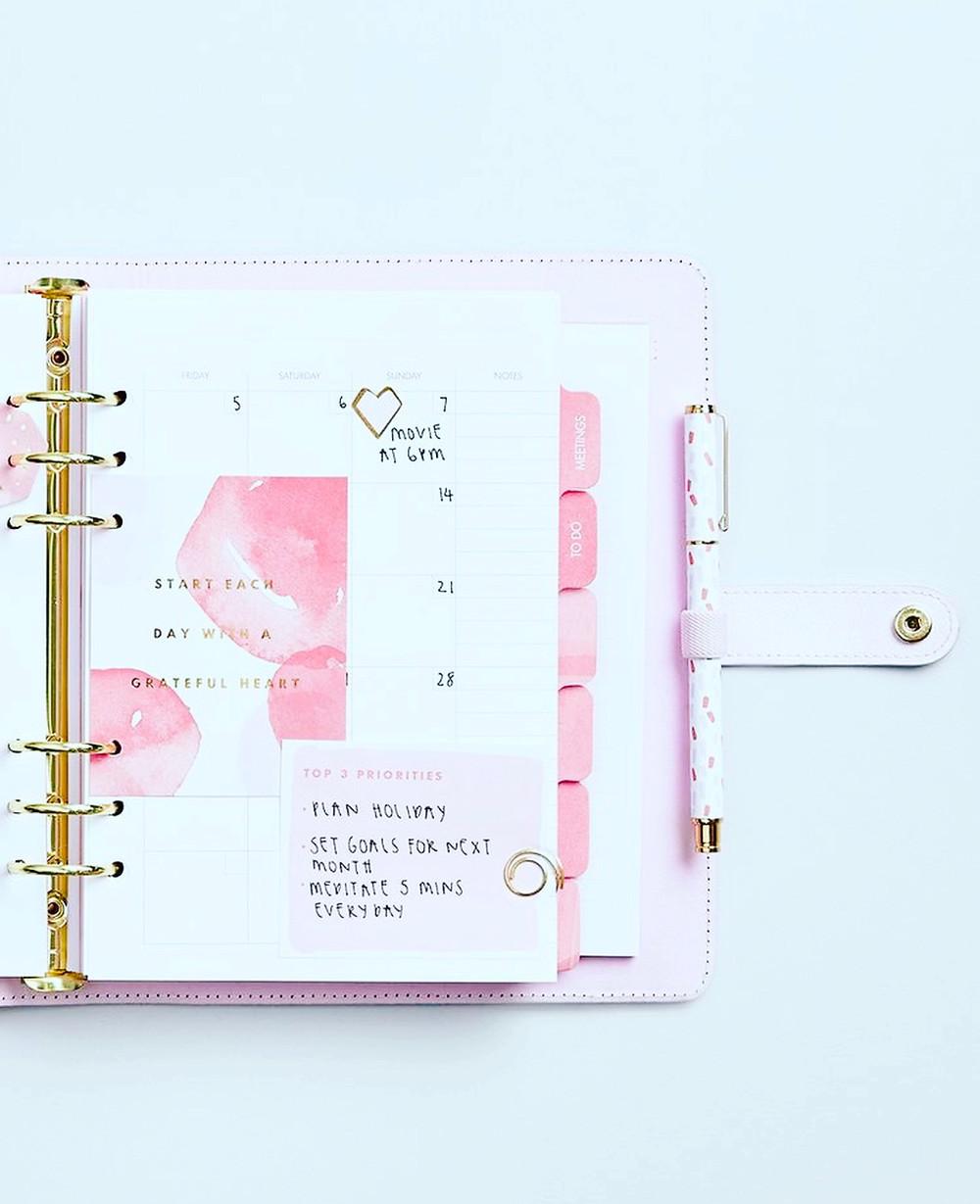 Kikki.K pink planner