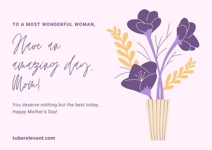 Violet Flower Mother's Day Card.png