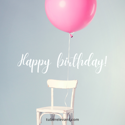 Happy Birthday light theme - balloon Image for Daughter | Tube Relevant