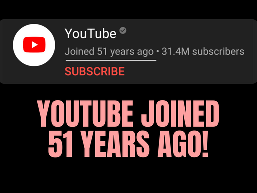 YouTube joined 51 Years ago - Unsolved Mystery