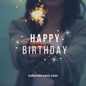 Photo Happy Birthday Greeting Instagram