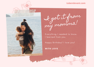 Happy Birthday Image for Mom! | Tube Relevant