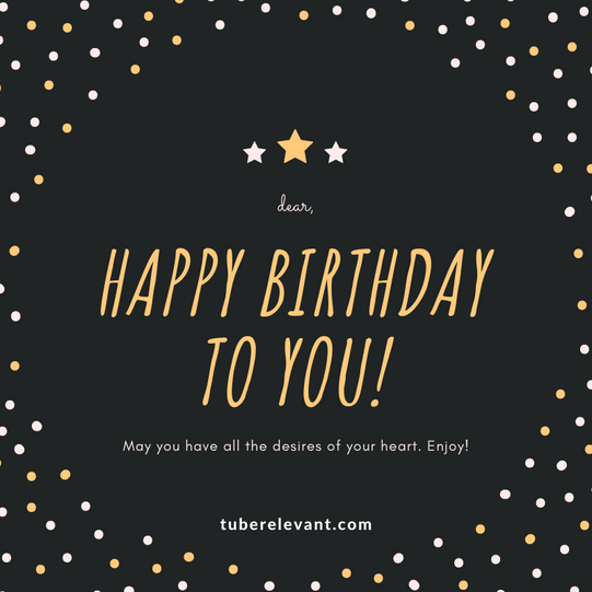 Happy Birthday to you Image for Daughter | Tube Relevant