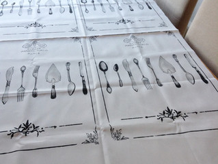 How to sew a custom printed tea towel from Spoonflower