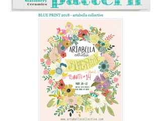 I am beyond excited to be featured with my collective on Print & Pattern Blogspot today. Here is