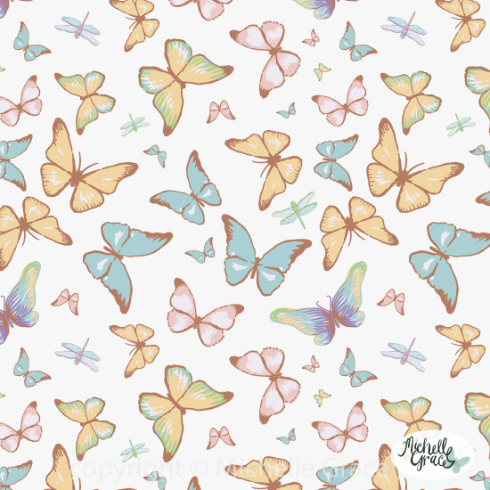 butterflies-white