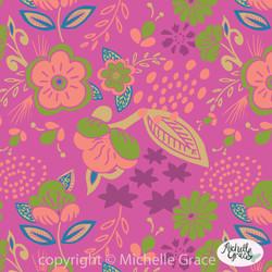 floral-pink