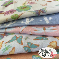 My latest fabric samples have just arrived, yay!!_They are so cute and delicate