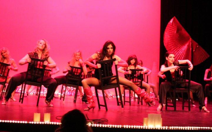 Burlesque Chair Choreography