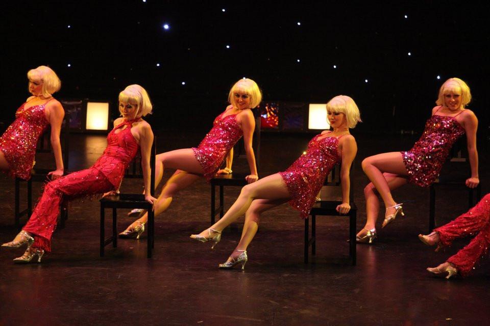 Burlesque Broadway Performance