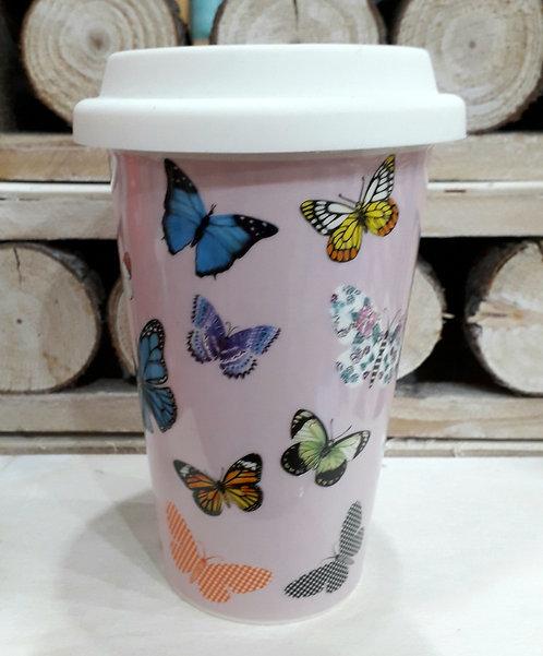 Mug collezione farfalle