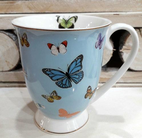 Tazza collezione farfalle