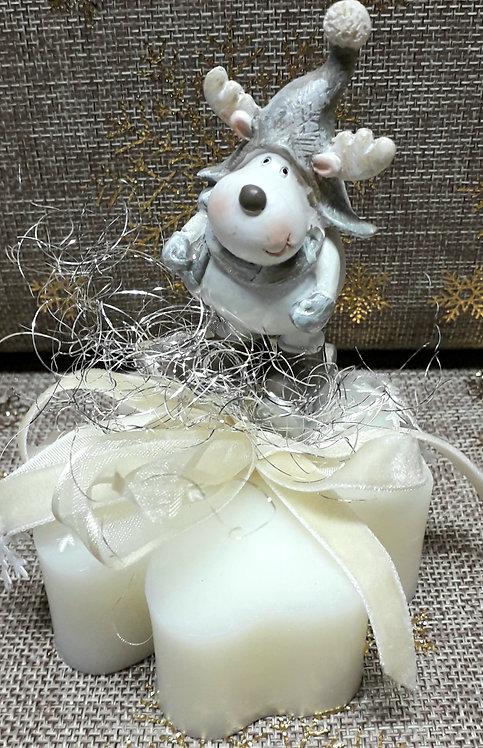 Renna su sapone artigianale