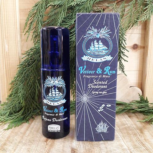 Deodorante vetiver e rum