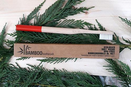 Spazzolino in fibra di bamboo