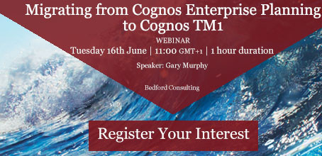 Migrating from Cognos EP to TM1; Webinar Review