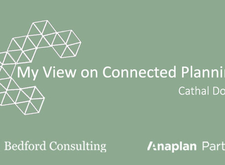 My View on Connected Planning