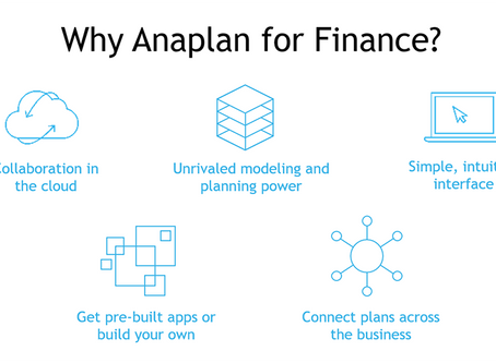 Anaplan for Finance: Webinar Review