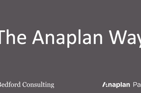 The Anaplan Way