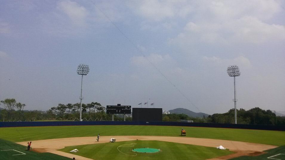 두산 베어스필드 주경기장