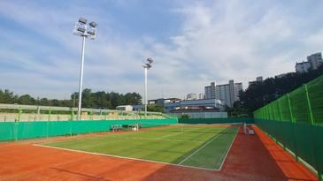 동해 1함대 테니스장
