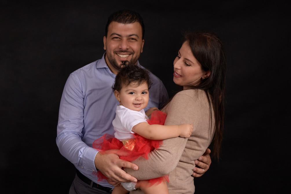 seance photo famille a geneve avec props