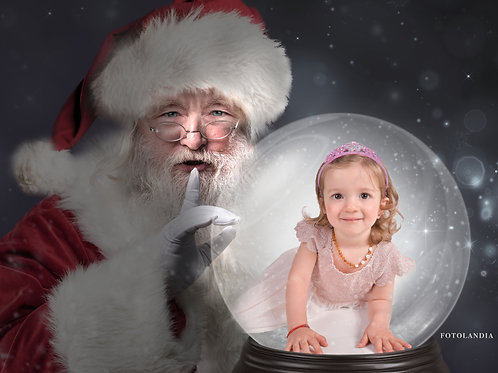 Christmas Photo Session with Greeting Card - 15 minutes