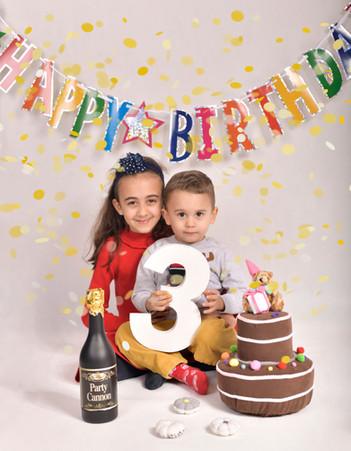 birthday photography in geneva - studio