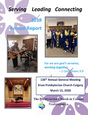 2019 Knox Annual Report