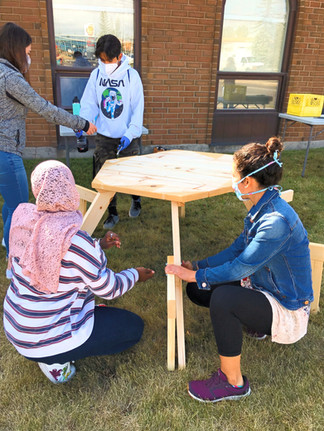 picnic table build