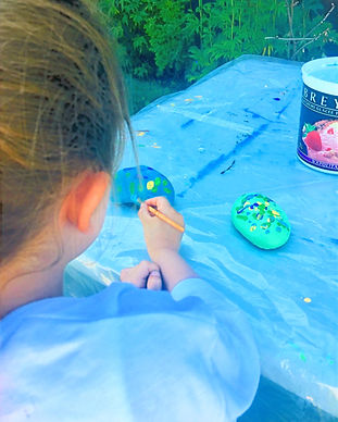 children painting in Calgary