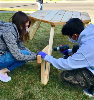 youth picnic build