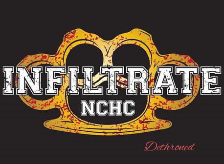 INFILTRATE: New EP 'Dethroned' (North Carolina Hardcore)