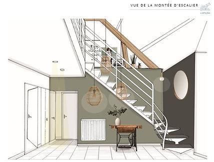 croquis escalier vert.JPG