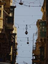 lampadaire dans rue