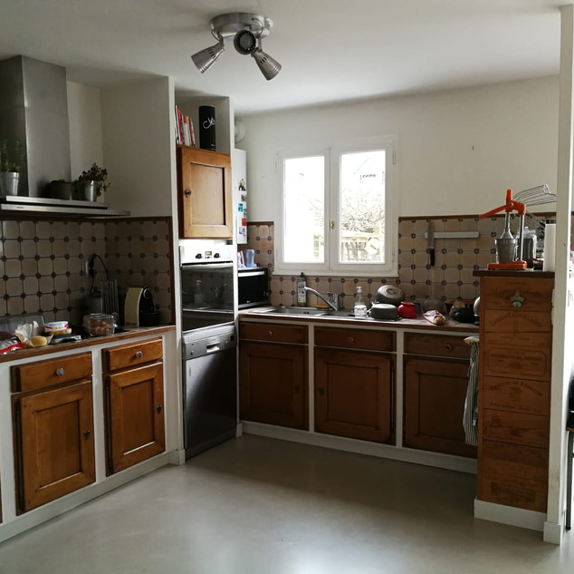 cuisine meubles bois