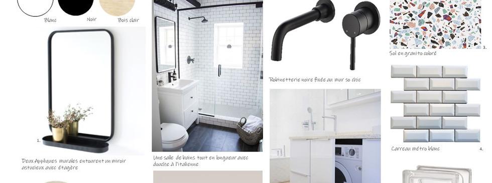 Planche Salle de bain