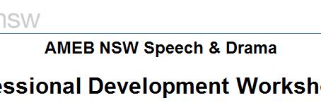 AMEB Professional Developmental Workshop... Featuring Steven!