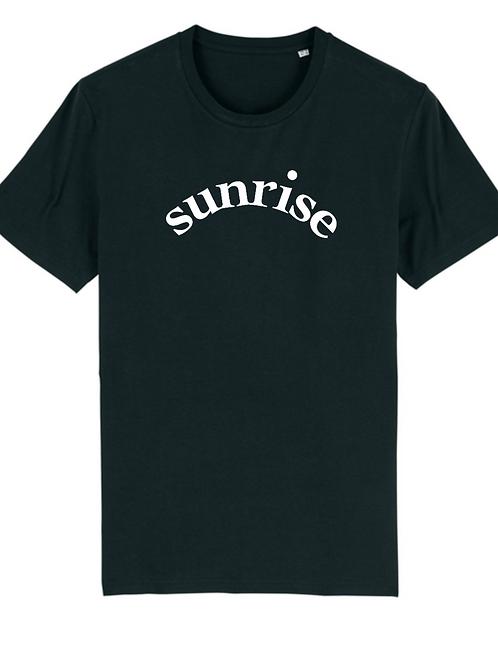 T-shirt Noir Sunrise Bold