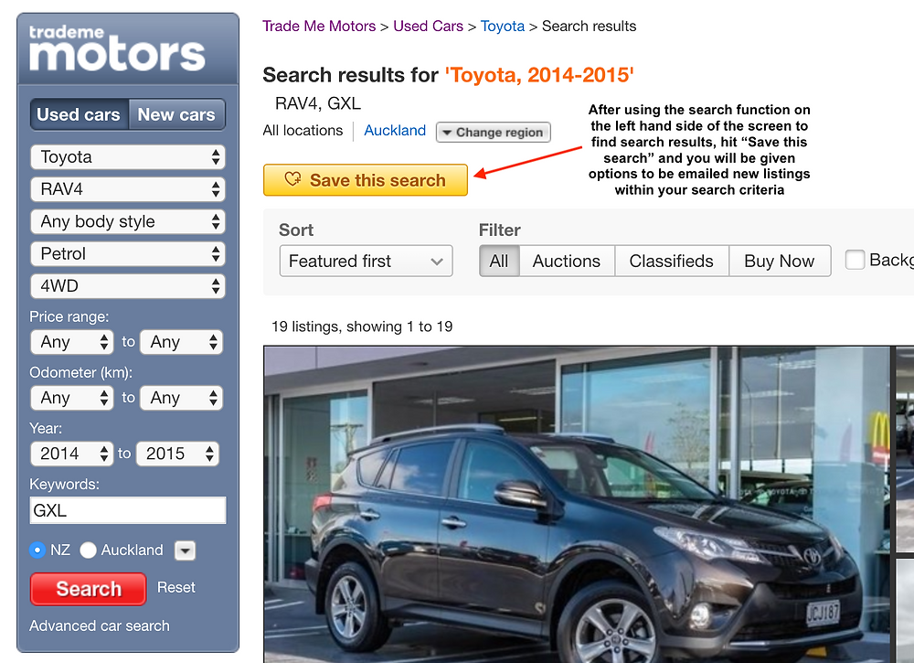 Tips for buying a car privately