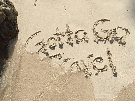 Gotta Go Travel Beach Sand