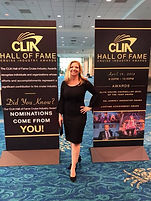 Corry Ticknor of Gotta Go Travel TPI attends CLIA Cruise 360 Gala in Fort Lauderdale, Florida