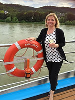 Corry Ticknor CTC & Owner of Gotta Go Travel sailing on AMA Waterways River Cruise 20
