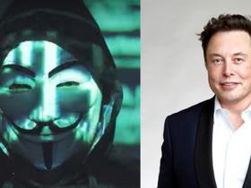 Elon Musk minacciato da Anonymous.