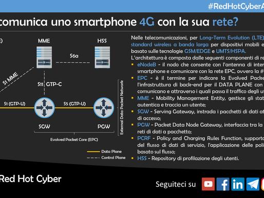 Come comunica uno smartphone 4G con la sua rete?