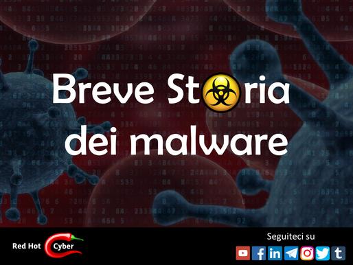 Breve Storia dei malware: l'evoluzione delle specie dalle origini ai nostri giorni