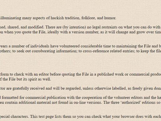 Cultura Hacker: il Jargon File.