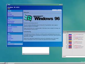 Windows 96: il ritorno al classico Windows via browser, dove puoi giocare a doom.